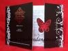 thumbs undangan pernikahan hitam kupu Undangan Softcover