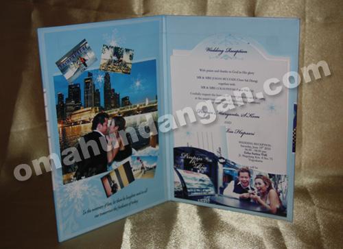 undangan blue snow dalam Undangan Blue Snow [HC 01]