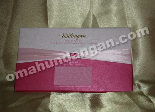 undangan elegant pink Undangan Elegant Pink [HC 06]