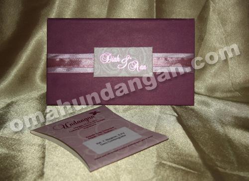 undangan elegant purple Undangan Elegan Purple [HC 04]