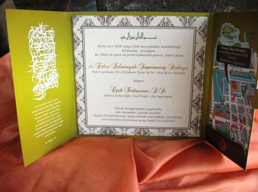 undangan nikah islam Undangan Nikah   Kata kata yang bisa digunakan dalam undangan nikah