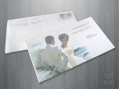 undangan nikah putih Undangan pernikahan yang akan membuat indah susana nikah anda. [CT 03]