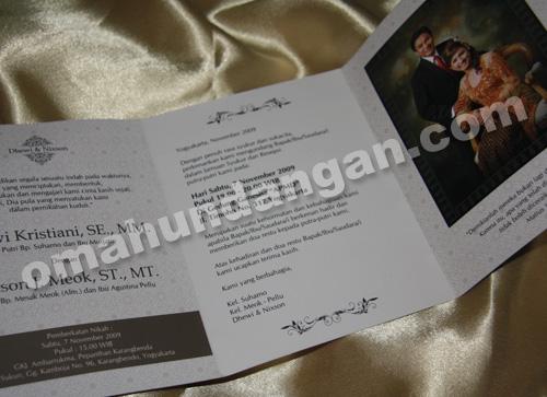undangan softcover full color blackbrown 2 Undangan Black Brown [SC 08]