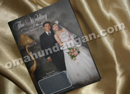 undangan softcover full color blackbrown Undangan Black Brown [SC 08]