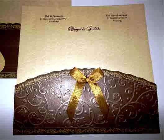 undangan pernikahan elegan Undangan Nikah