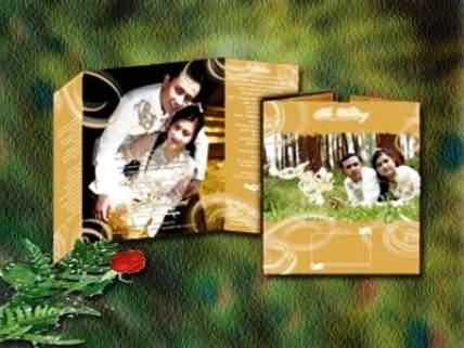 undangan pernikahan fullcolor Desain undangan pernikahan eksklusif untuk anda pilih [CT 02]