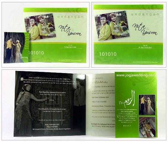 undangan pernikahan hijaumuda Desain undangan pernikahan eksklusif untuk anda pilih [CT 02]