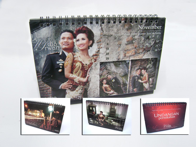 undangan pernikahan kalender 1 Undangan pernikahan kalender [CT 01]