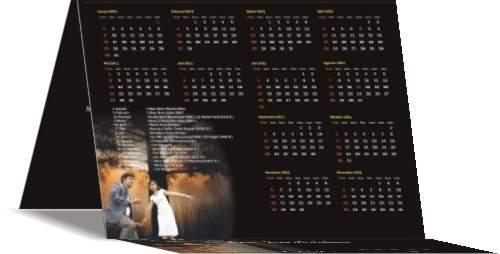 undangan pernikahan kalender 4 Undangan pernikahan kalender [CT 01]