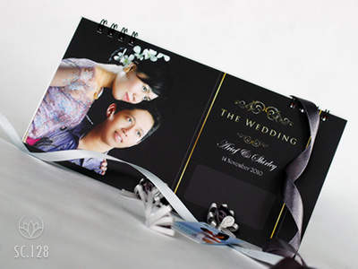 undangan pernikahan kalender Undangan pernikahan kalender [CT 01]