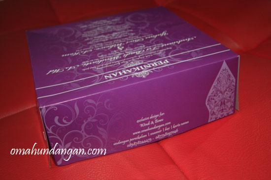 undangan pernikahan unik kardus Kardus nasi untuk undangan pernikahan unik