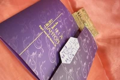 undangan softcover artpaper Undangan Softcover menarik untuk pernikahan anda [CT 05]