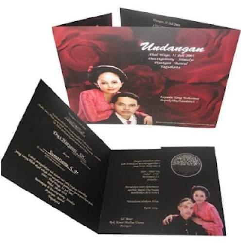 undangan softcover full color Undangan Softcover menarik untuk pernikahan anda [CT 05]