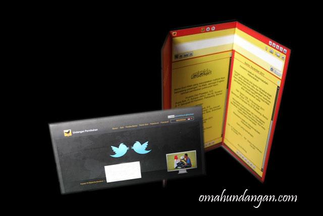 undangan nikah twitter hardcover Undangan nikah twitter hardcover [HC 09]