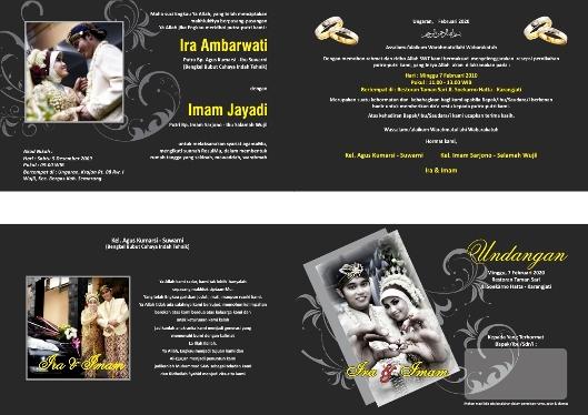 undangan pernikahan contoh Desain undangan pernikahan untuk anda sebagai referensi contoh undangan
