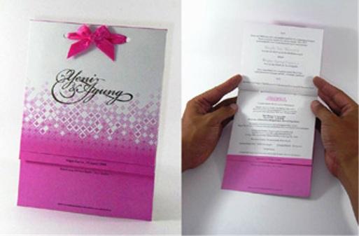 undangan pink lucu unyu Desain undangan pernikahan untuk anda sebagai referensi contoh undangan