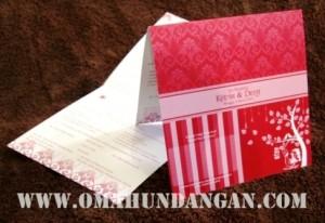 undangan pernikahan merahh 300x206 Pernikahan Kevin & Desy (Jakarta)