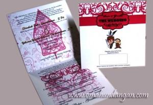 undangan pernikahan merahputih 300x206 Pernikahan Putri & Yessiko (Pontianak)