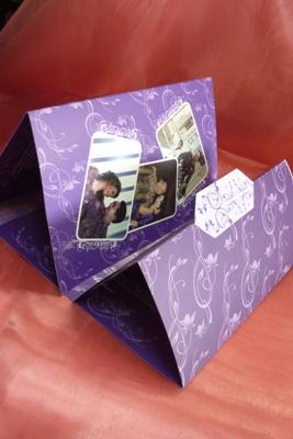 undangan pernikahan ungu3 Membuat undangan pernikahan