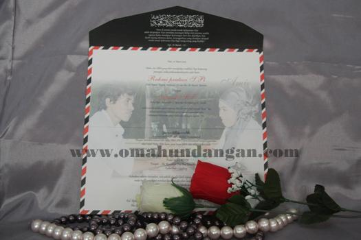 undangan amplop Undangan pernikahan amplop [SC 22]