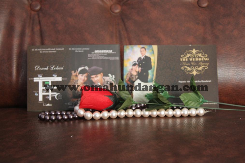 undangan coklat Undangan Coklat Soft Cover (SC 28)