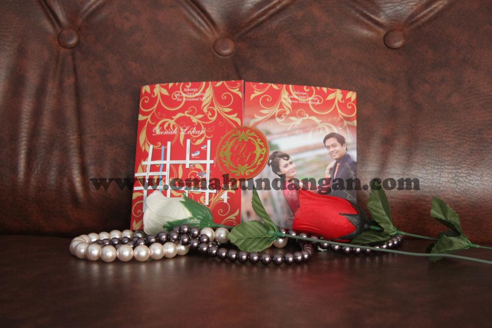 undangan elegan merah belakang1 Undangan Elegan Merah Bata (SC 27)