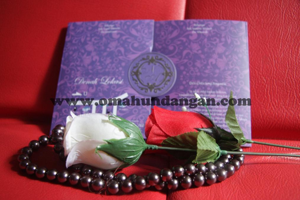 undangan elegan ungu belakang 2 Undangan Elegan Ungu (SC 25)