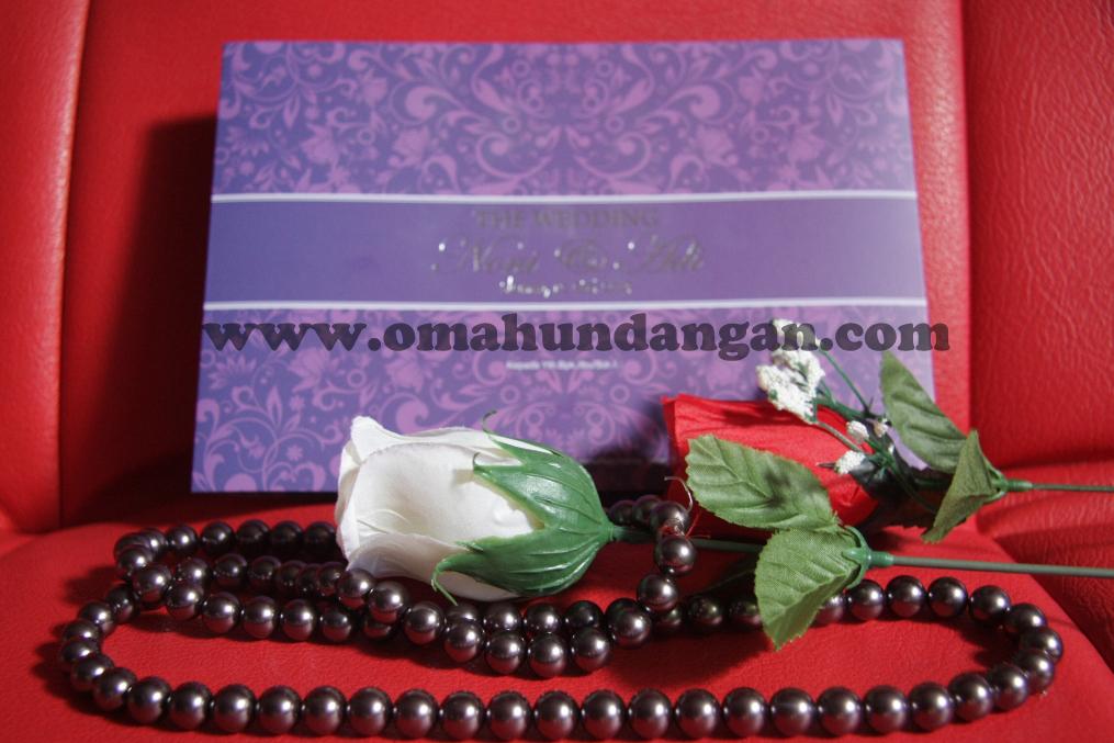 undangan elegan ungu depan Undangan Elegan Ungu (SC 25)