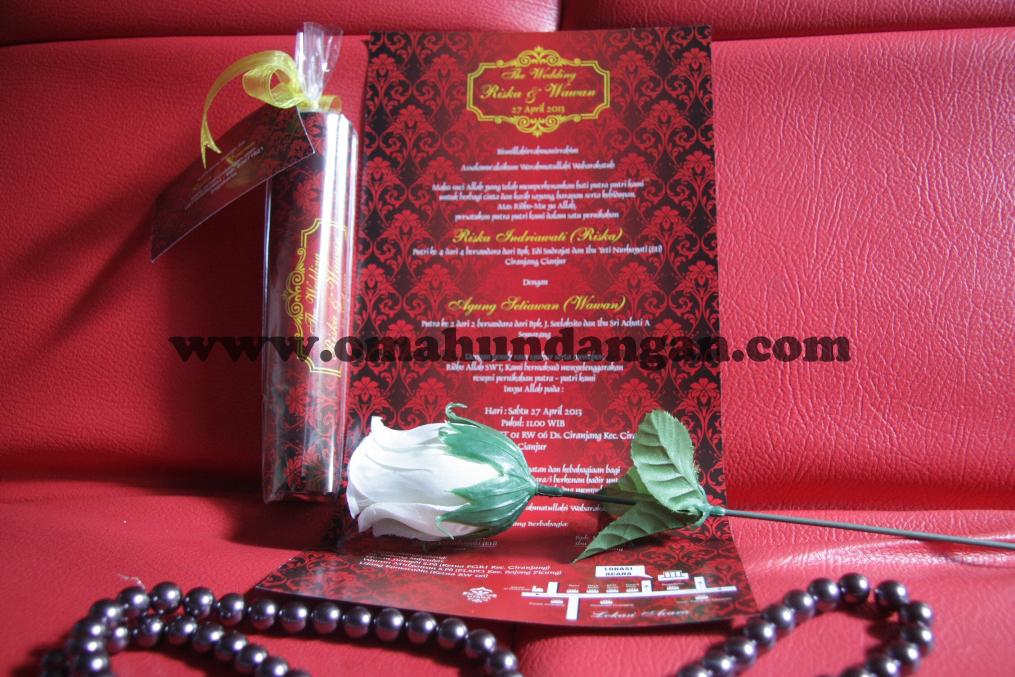 undangan gulung merah Undangan Gulung Merah (SC 26)