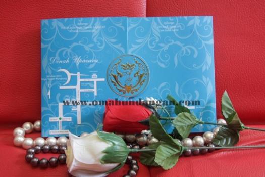 undangan nikah biru elegan Undangan elegan biru [SC 23]