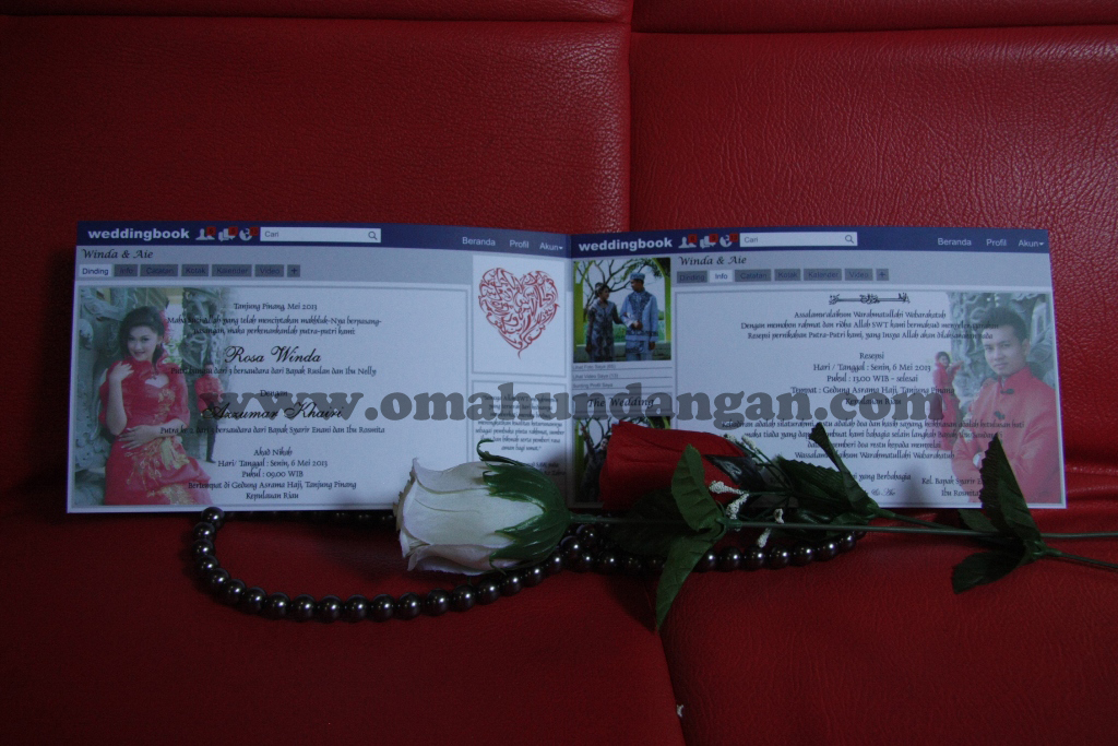undangan pernikahan facebook Undangan Facebook unik [sc 30]