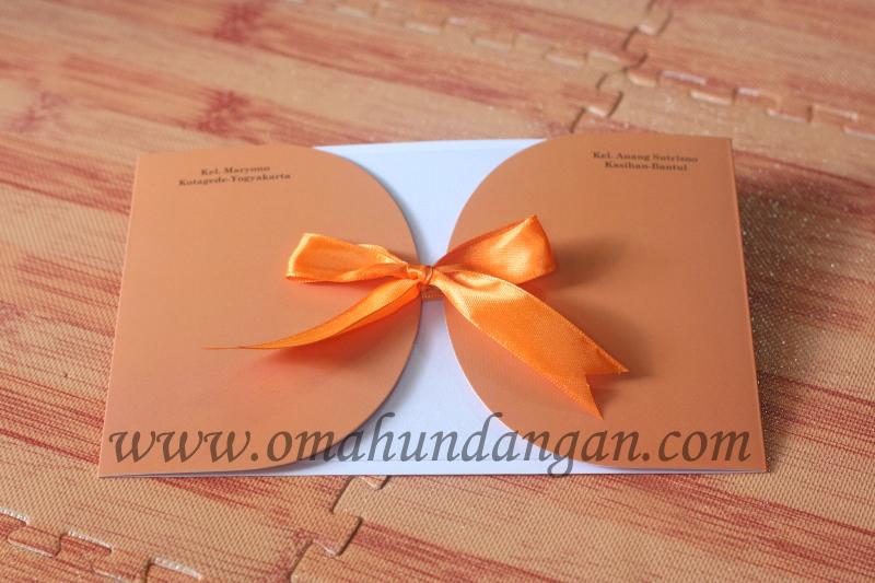 undangan nikah Undangan nikah coklat [SC 42]