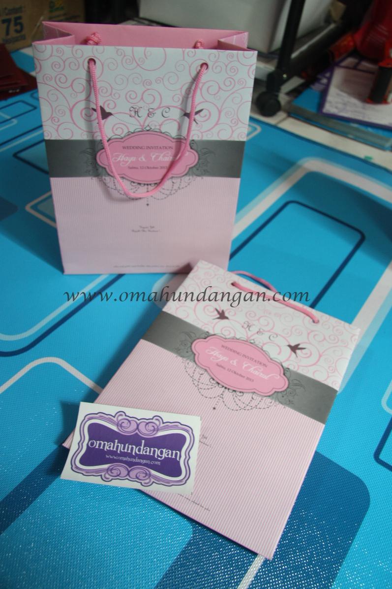paperbag pastel Undangan paperbag pastel [UU 09]