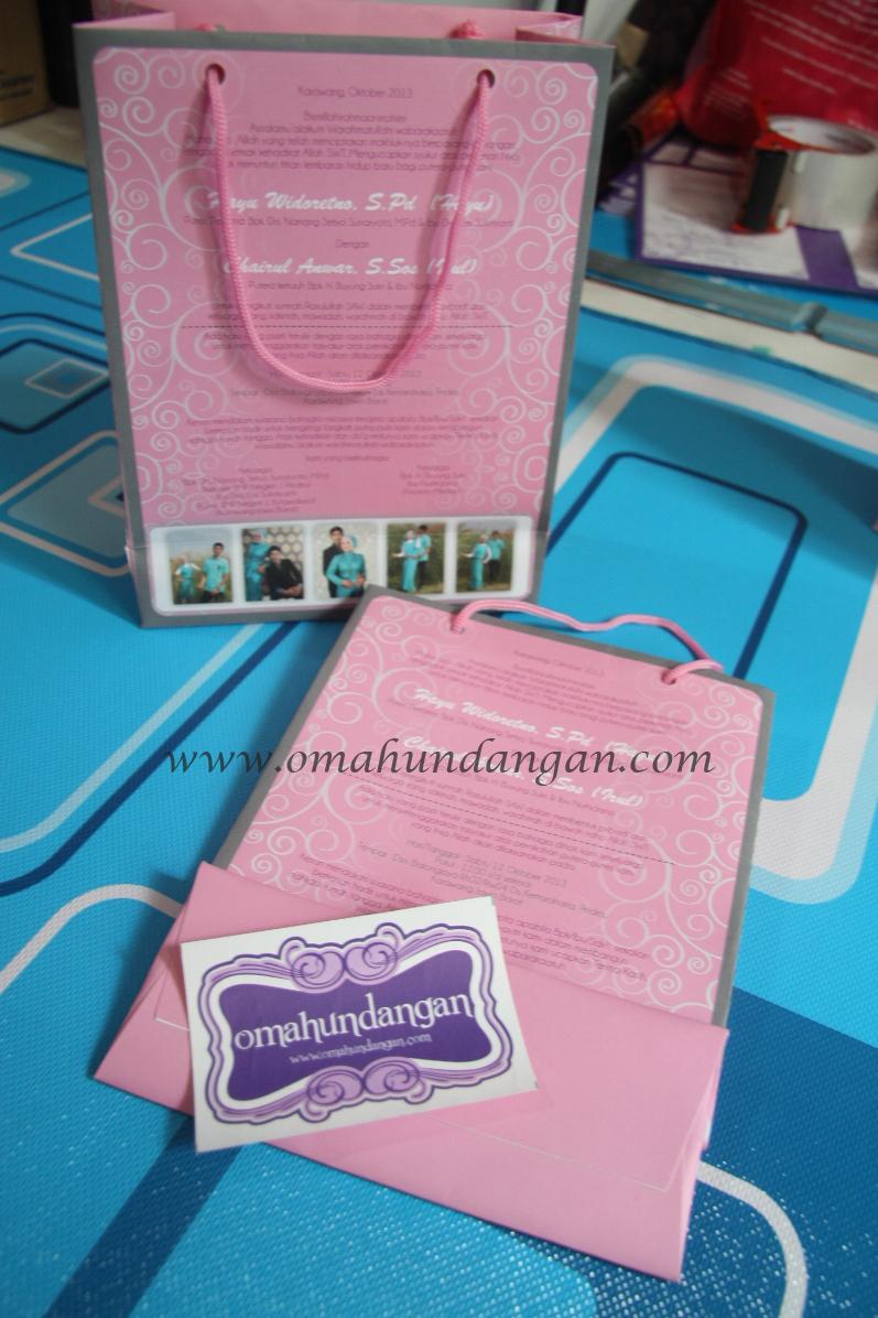 undangan paperbag pastel Undangan paperbag pastel [UU 09]