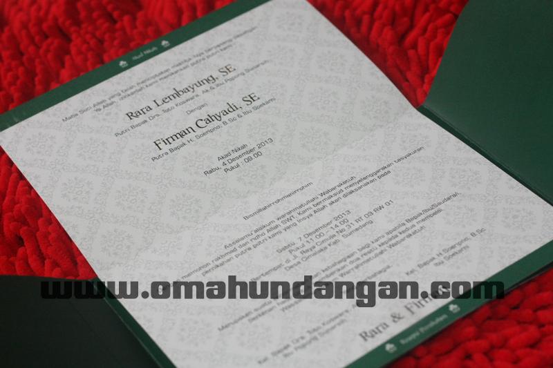 undangan hijau isi terbuka Undangan hijau elegan [sc 58]