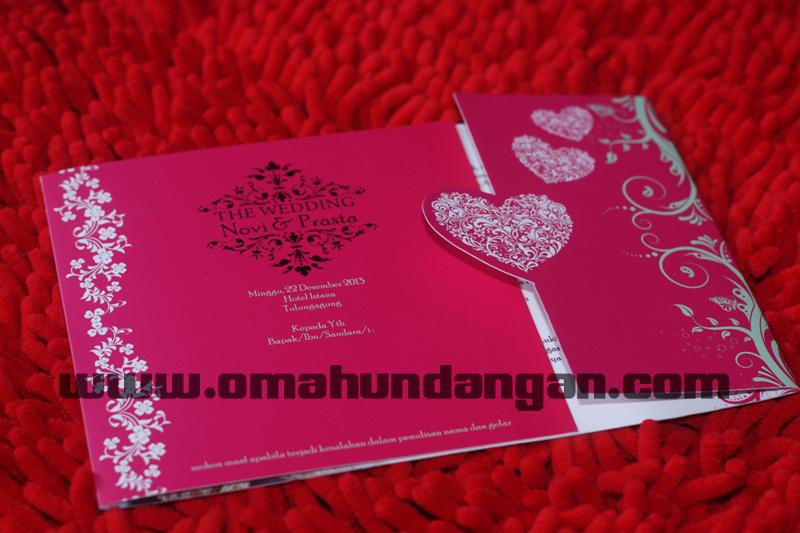 undangan pink love Undangan pink love kalender [sc 57]