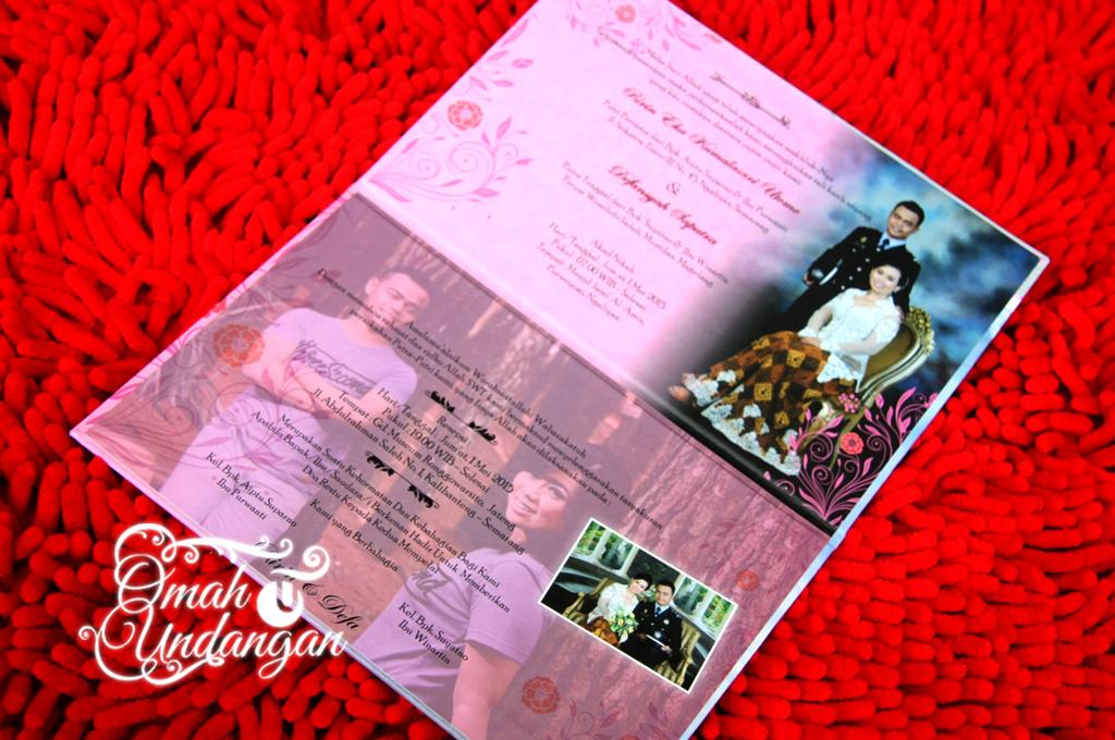 isi undangan hardcover pink kolase Undangan hardcover pink kolase [HC 37]