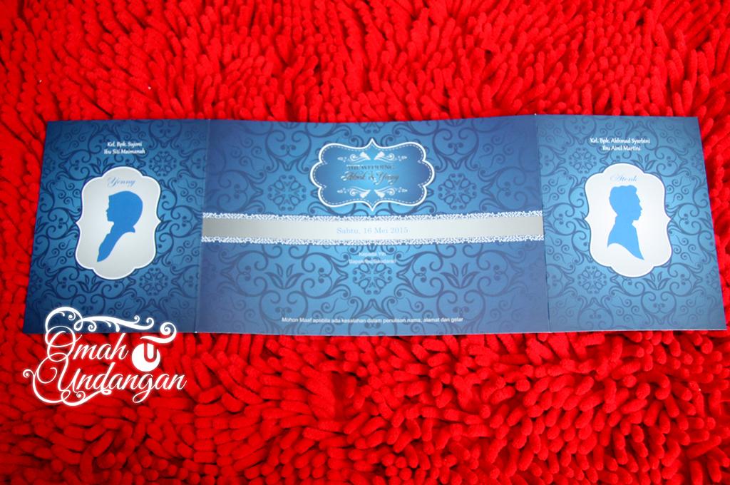 undangan biru siluet Undangan biru siluet [SC 60]