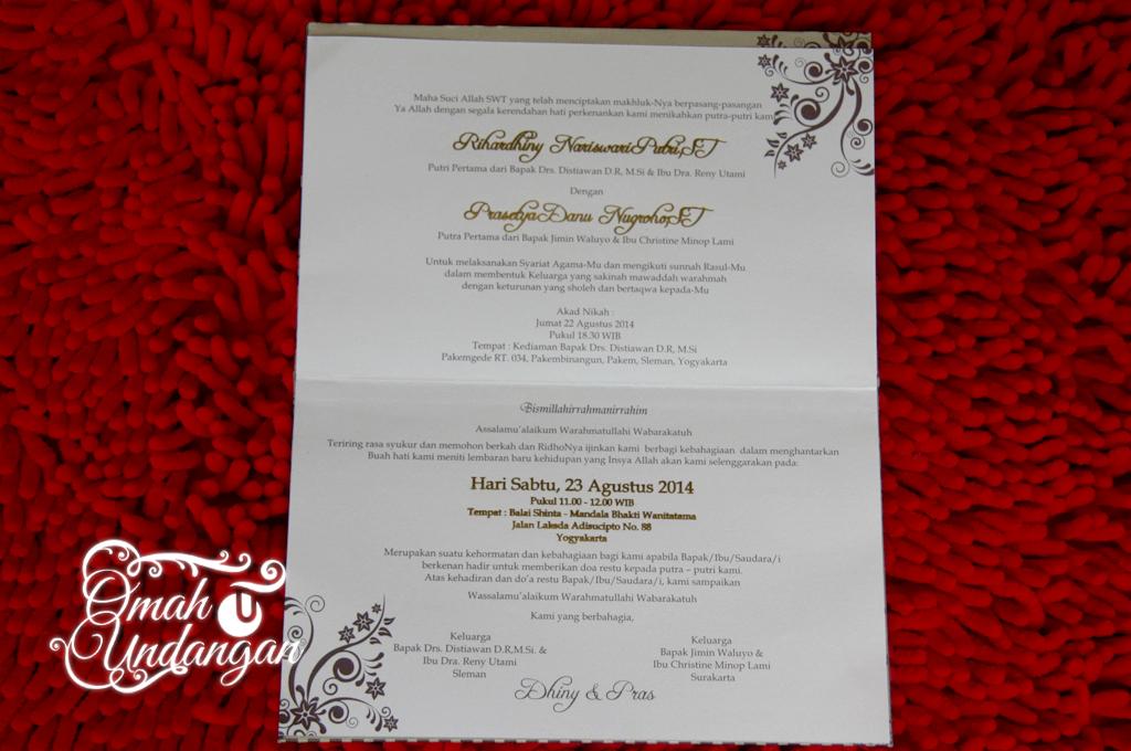 undangan hardcover gold emblem Undangan hardcover gold dengan emblem [HC 33]