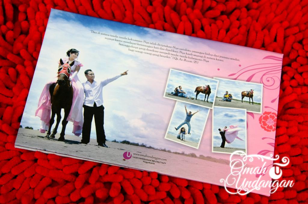 undangan hardcover pink kolase Undangan hardcover pink kolase [HC 37]