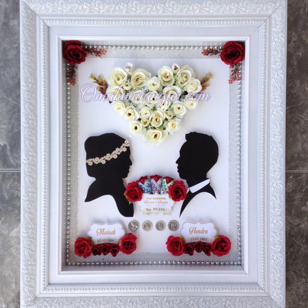 mahar siluet bunga putih 1024x1024 Mahar Siluet