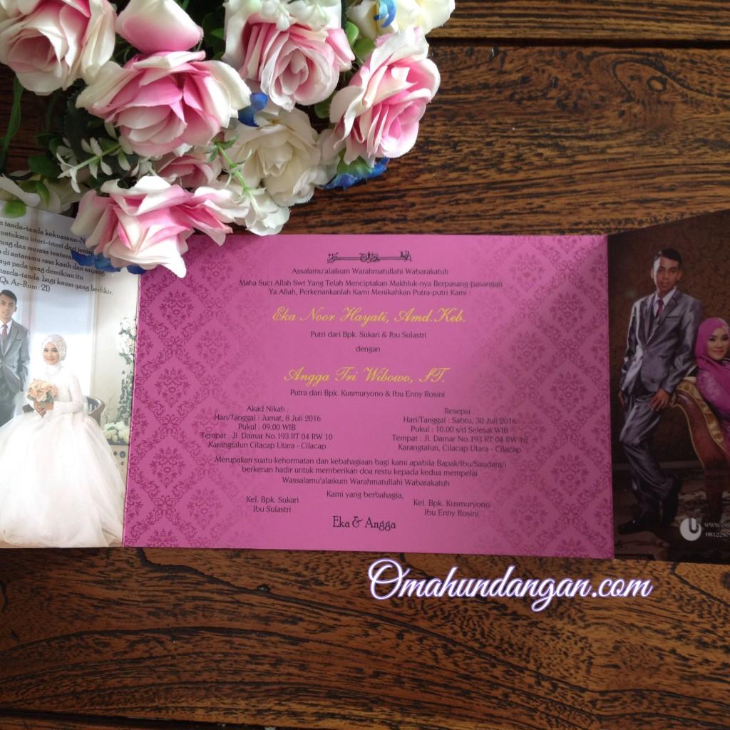 undangan ungu 1024x1024 Undangan softcover ungu fuschia