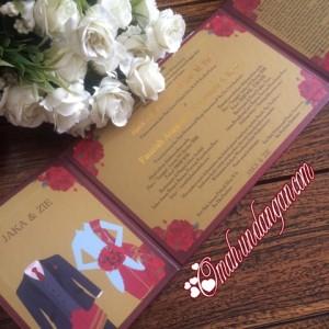 undangan hardcover 300x300 Undangan hardcover maroon hc39